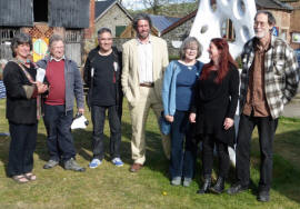 opening of sculpture trail